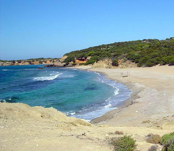 Beaches in Skyros